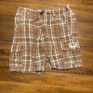 Osh Kosh Boy's Plaid Shorts